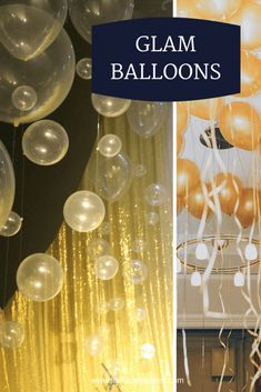 Great Gatsby 20s Balloons via Loulou + Jones