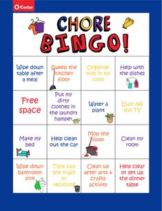With daily routines looking a little different this year, we've created a Chore Bingo chart to help the kids chip in (and have a little fun!) with the household chores. Check out our website to download! Creative Activities, Fun Activities, Feeling Great, Feel Good, Helping Cleaning, Social Channel, Daily Routines, Household Chores, Toy Kitchen