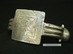 Ancient African Jewelry | Ancient Aluminium Ankle Bracelet - 100 Years Old - Sahara Jewelry ...