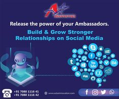Social Media is a powerful platform to target audience and create engagement in real-time to uplift your brand. Dive into Social Media Marketing with A- Star Innovation. To Expand and Innovate Your business world.   Contact us- 7080111641 ,7080111642 Email - astarinnovation@gmail.com   #DigitalMarketing #DigiatmediaMarketing #SocialMedia #Lucknow #AStarInnovation #Outdoor #Indoor #Services #MarketingAndAdvertisingSolution #Advertising #BrandBuilding #smo #Seo #Engegment #BestDigitalMarketing Social Media Marketing, Digital Marketing, Out Of Home Advertising, Brand Building, S Mo, Strong Relationship, Target Audience, Innovation, Platform