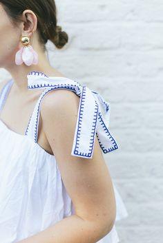 (Dress: C/O ASOS , Earrings: C/O ASOS , Shoes: C/O ASOS , Bag: Charlotte Elizabeth, Glasses: Celine)   The joy of summer dressing an...
