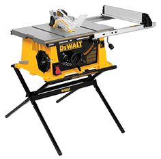 The DW744X from DeWalt comes with the Site-Pro Modular Guarding System which is a patented technology of the reputed manufacturer. It is quite a good table saw but you will find weight to be an issue.