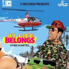 Vybz Kartel - My Life Belongs - Audio | Lyrics