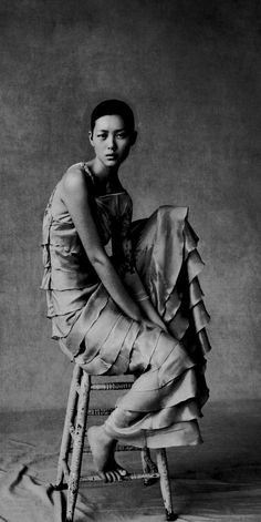 Liu Wen - China Vogue http://gryulich.tumblr.com/post/18388932914/nothingpersonaluk-liu-wen-china-vogue