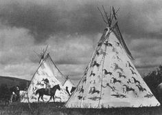 Sioux Tepees