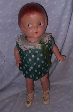 American Character Sally Petite Doll in Original tagged dress