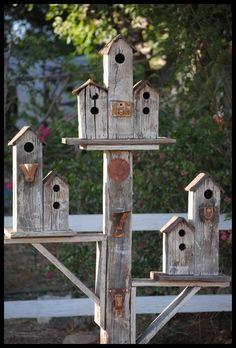 cool bird houses - Google Search #birdhouseideas