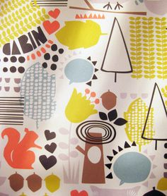 Lovely new prints from Paperchase featured on the Print & Pattern blog