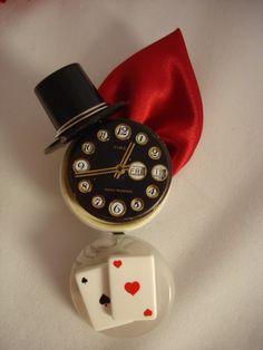 Etsy Transaction - Reserved for maryannetaranto Deposit payment on Alice in Wonderland Wedding Button Bouquet set