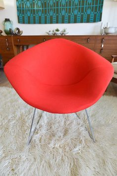 Vintage Original Harry Bertoia for Knoll Diamond Chair on Etsy, $649.00