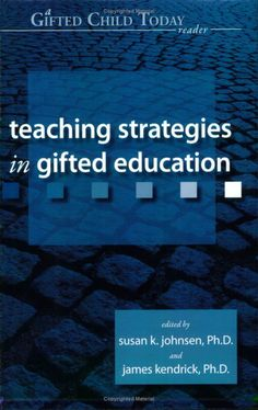 Great articles to help gifted students with underachievement.  Great range of viewpoints.  This is a must have for any gifted educator to add to their library.  I'd also recommend a subscription to Gifted Child Quarterly as well.