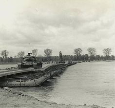 Tanks crossing Rhine near Wesel March 1945 - Operation Plunder - Wikipedia, the free encyclopedia