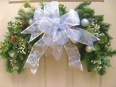Christmas Wreath - Christmas Swag - Christmas Front Door Wreath