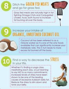 Top 10 Ways to Lose Belly Fat