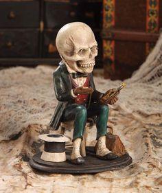 Calendar Skeleton Diagnosis. Great Halloween Decoration.