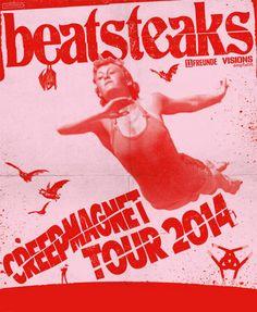 Beatsteaks - Creepmagnet Tour 2014 - Tickets unter: www.semmel.de