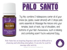 Palo Santo has an inspiring fragrance and can be diffused for a cleansing and refreshing atmosphere. It can also be used for massage after activity. Palo Santo Essential Oil, Clary Sage Essential Oil, Yl Essential Oils, Young Living Essential Oils, Essential Oil Blends, Yl Oils, Best Coconut Oil, Coconut Oil For Face, Coconut Oil Uses