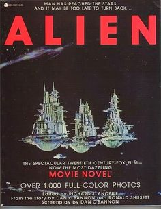 John Kenneth Muir's Reflections on Cult Movies and Classic TV: Pop Art: Alien Movie Special Edition Photonovel
