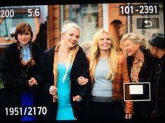 Jennifer, Georgina and Elizabeth Lail on the set. - behind the scenes - 4*10 - 22 october 2014