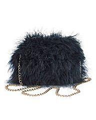 Marabou Feather Bag