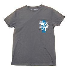 Deus Hall T-Shirt - Charcoal www.westgoods.co