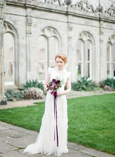 A dreamy editorial at Killruddery House captured by Brumley and Wells, styled by Style Serendipity