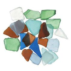 50 Pounds of Mixed Colored Sea Glass -- Beach Wedding