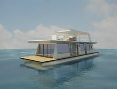 House Boat Interior And Exterior Design