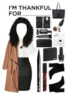 """""""Thanks giving"""" by grey-eyed-freak ❤ liked on Polyvore featuring WithChic, Michael Kors, Gianvito Rossi, Tom Ford, Luna Twilight, Porsche Design, NYX and Bobbi Brown Cosmetics"""