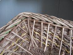 Мастер-класс Поделка изделие Плетение Еще один вариант бортика под крышку Салфетки Трубочки бумажные фото 14