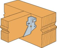 Simpson Strong-Tie LUS Galvanized Face-Mount Joist Hanger for Nominal - The Home Depot