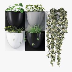 vertiplants pot 3d model max obj 3ds fbx mat 1