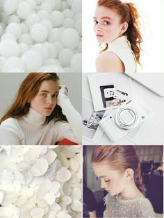 Sadie Sink wallpaper white •Made by Zoomer Tozier•