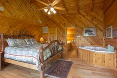 Smoky Mountain High Cabin.   6 bedrooms and 6 bathrooms.
