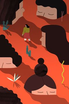It's Nice That | Step into illustrator Jing Wei's wobbly parallel universe