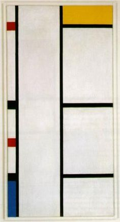 Composition No. III Blanc-Jaune - Piet Mondrian, 1935-42