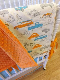 Baby Bedding Made to Order 4 pc Boy Crib by LittleCharlieMay, $429.00