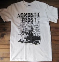 AGNOSTIC FRONT Tシャツ イラスト