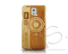 Genuine Wood Series Samsung Galaxy Note 3 Case - $27.99 - For Hipster Photogs #woodphonecase