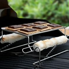 Great way to cook s'mores if there's no camp fire!!......Unusual and Unique Gifts for Men, Women, and Kids - DROOL'D