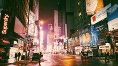 A block away from the world's capital #nyc #timessquare #vsco #vsco #winter