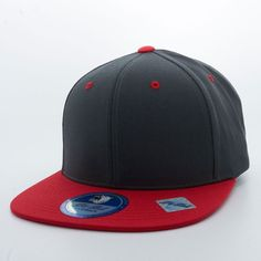 00343192574 Shop Burgundy and Red Two Tone Pit Bull Blank 6 Panel Cotton Snapback Hats  Wholesale