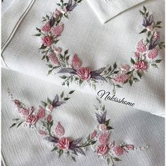 Ribbon Embroidery, Embroidery Stitches, Embroidery Patterns, Machine Embroidery, Foto E Video, Photo And Video, Brazilian Embroidery, Blouse Designs, Elsa