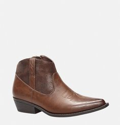 Show your cowboy side in the new wide width Selma Cowboy Bootie in sizes 7-13 available online at avenue.com. Avenue Store
