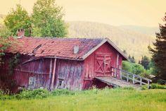 Old barn  ♡ Sweden  ♡ Åre  ♡