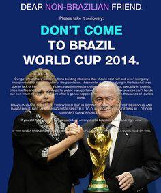 Coppa del mondo, il coraggio di dire che è immorale