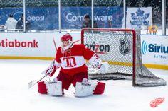 Chris Osgood, 2013 Hockeytown Winter Festival - Red Wings Alumni Practice, 12/30/2013