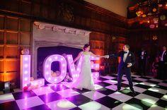 Evening celebrations at Hengrave Hall, Suffolk wedding venue
