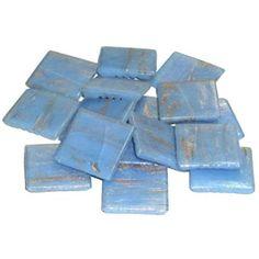 Light Turquoise MosaixPro 20/x 20/x 4/mm 200/g 72/Goldline Glas Fliesen