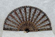 Lace Fan, Lace Fan, Abanico Puntilla, Hand Fan, Spanish Hand Fans F-486